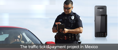 The traffic cop project in Mexico