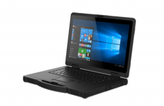 14 inch rugged notebook with Windows 10 OS
